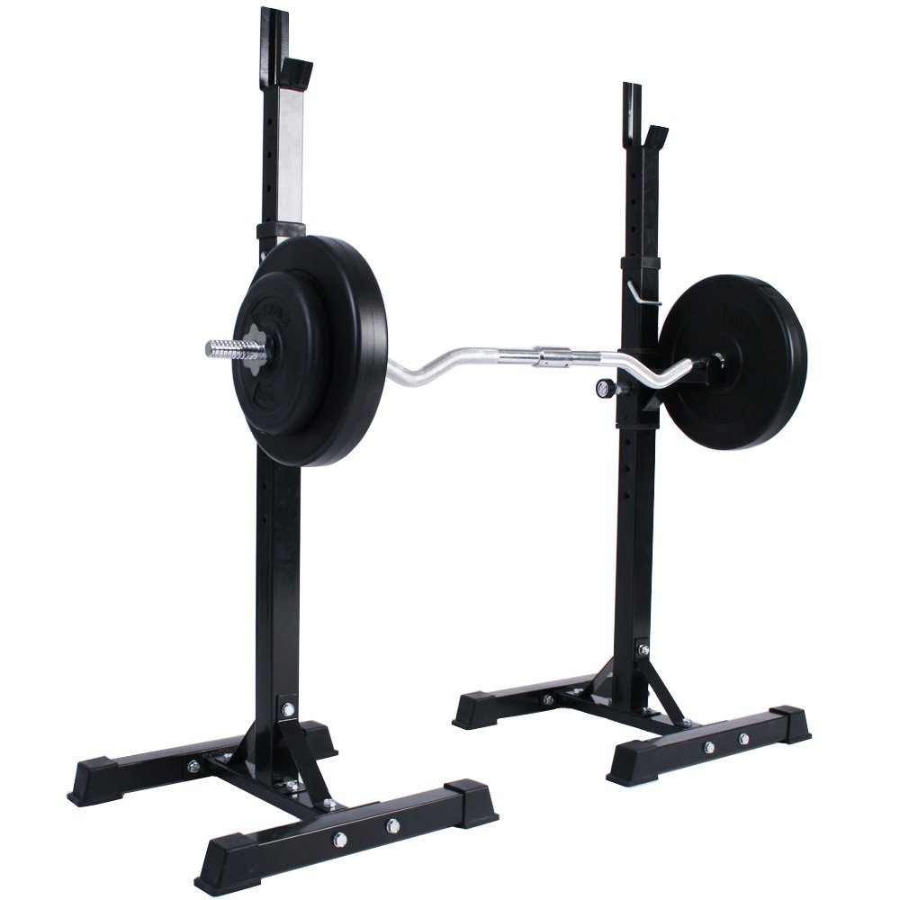 1000x1000 Physionics Adjustable Squat Stand (5048 Cm) 12 Levels Barbell