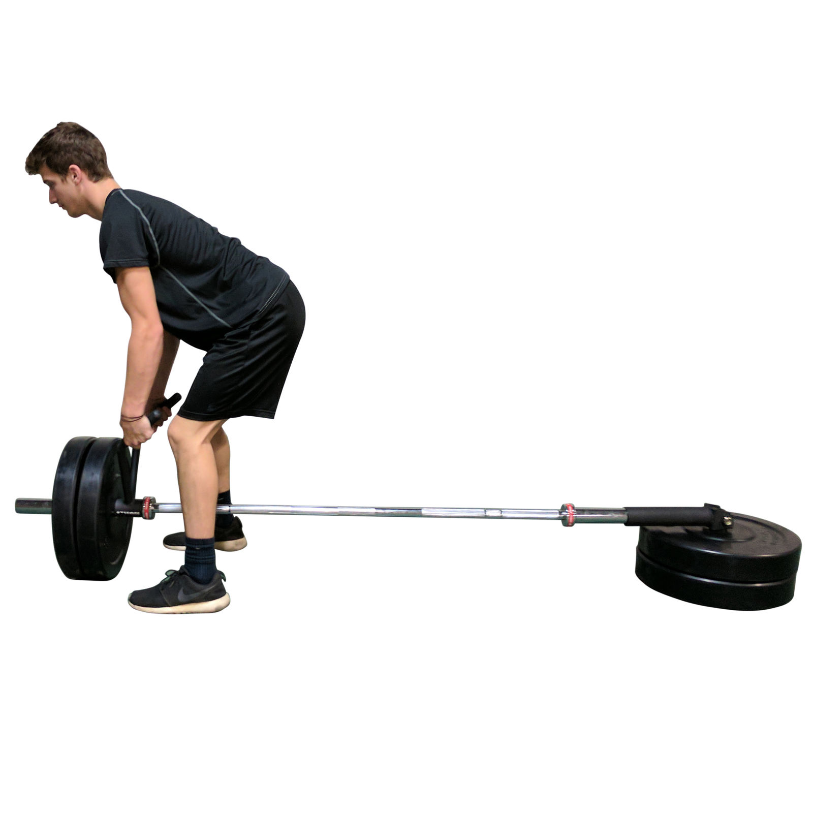 1600x1600 Titan Angled Landmine Handle W Rubber Grip Olympic Barbell Ebay