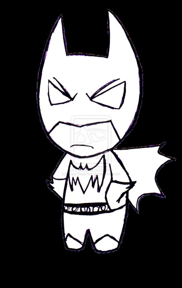 710x1125 Drawn Batman Baby