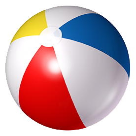 276x276 Beach Ball Images Collection