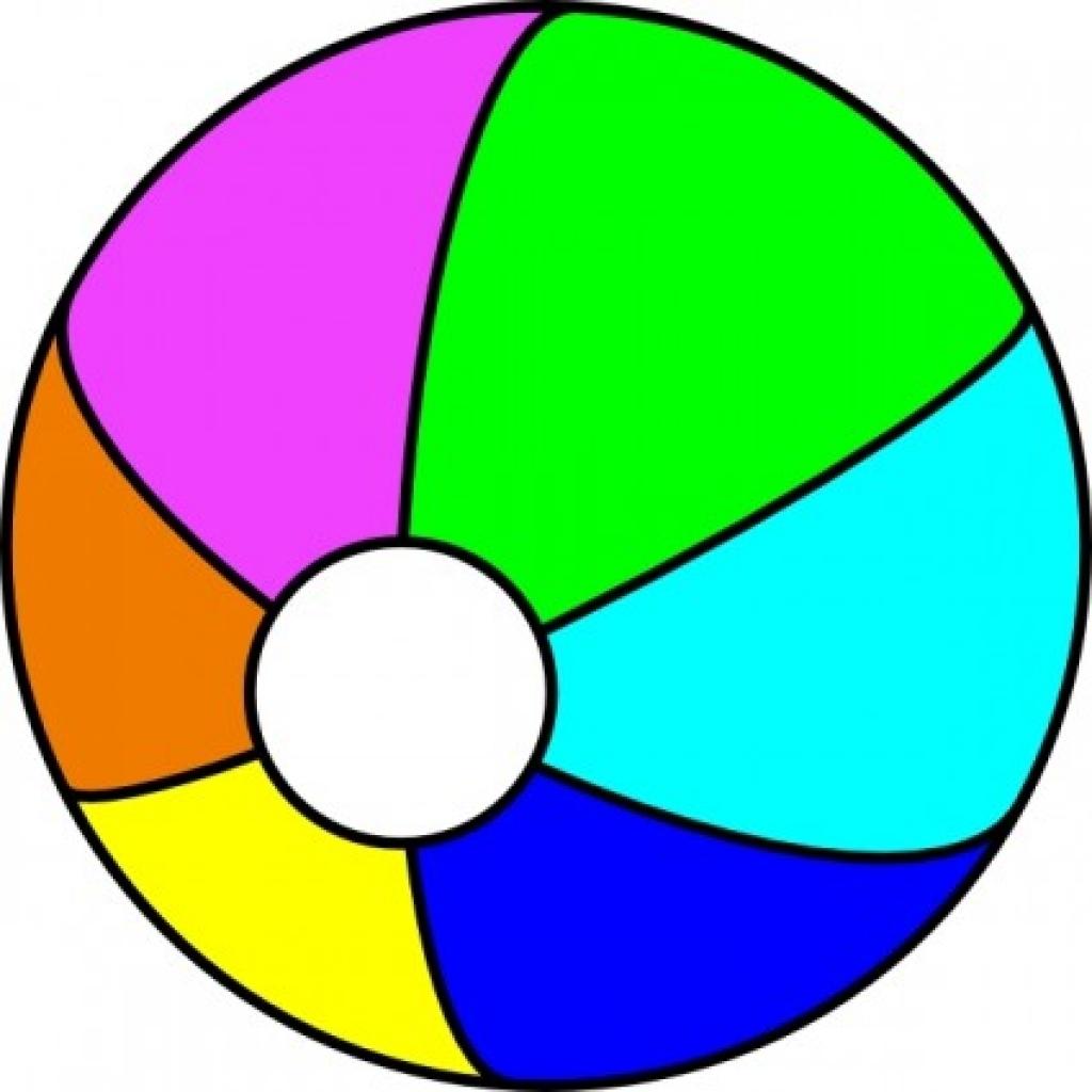 1024x1024 Clip Art Balls Beach Ball Clip Art Free Vector In Open Office