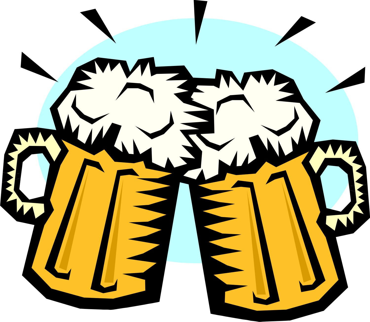 1500x1304 Beer Clip Art Black And White Free Clipart Images