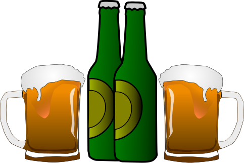 483x322 Beer Clip Art Black And White Free Clipart Images 6