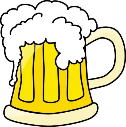 423x425 Beer Mug Clip Art Free Vector In Open Office Drawing Svg Svg