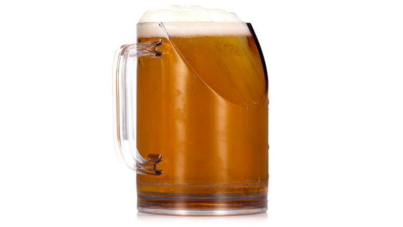 800x450 Brilliant Beer Mug Won'T Block The Tv While You Chug