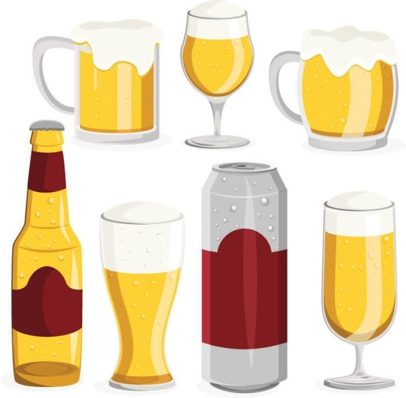 583x572 Cocktail Clipart Beer Pint