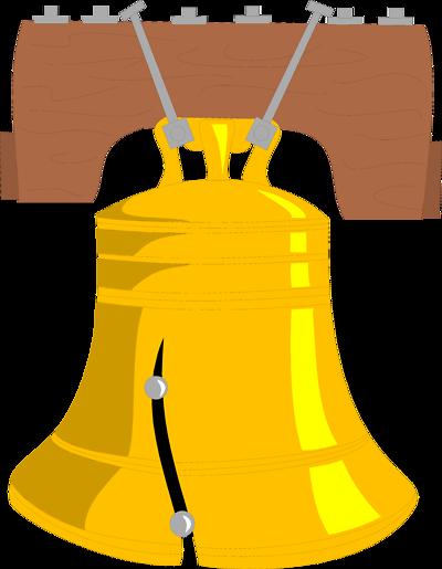 400x515 Bell Clipart Liberty