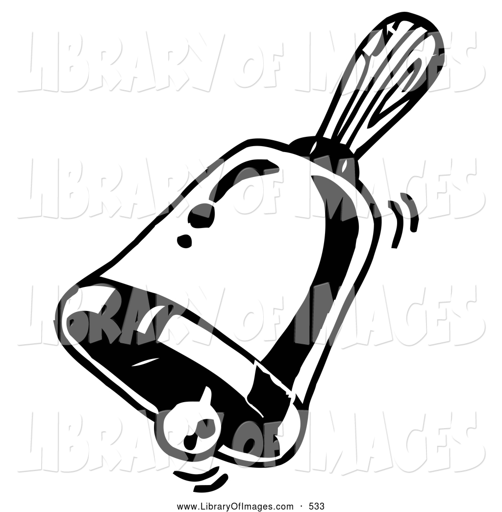 1024x1044 Clip Art Of A Coloring Page Of A Ringing Handheld Bell By