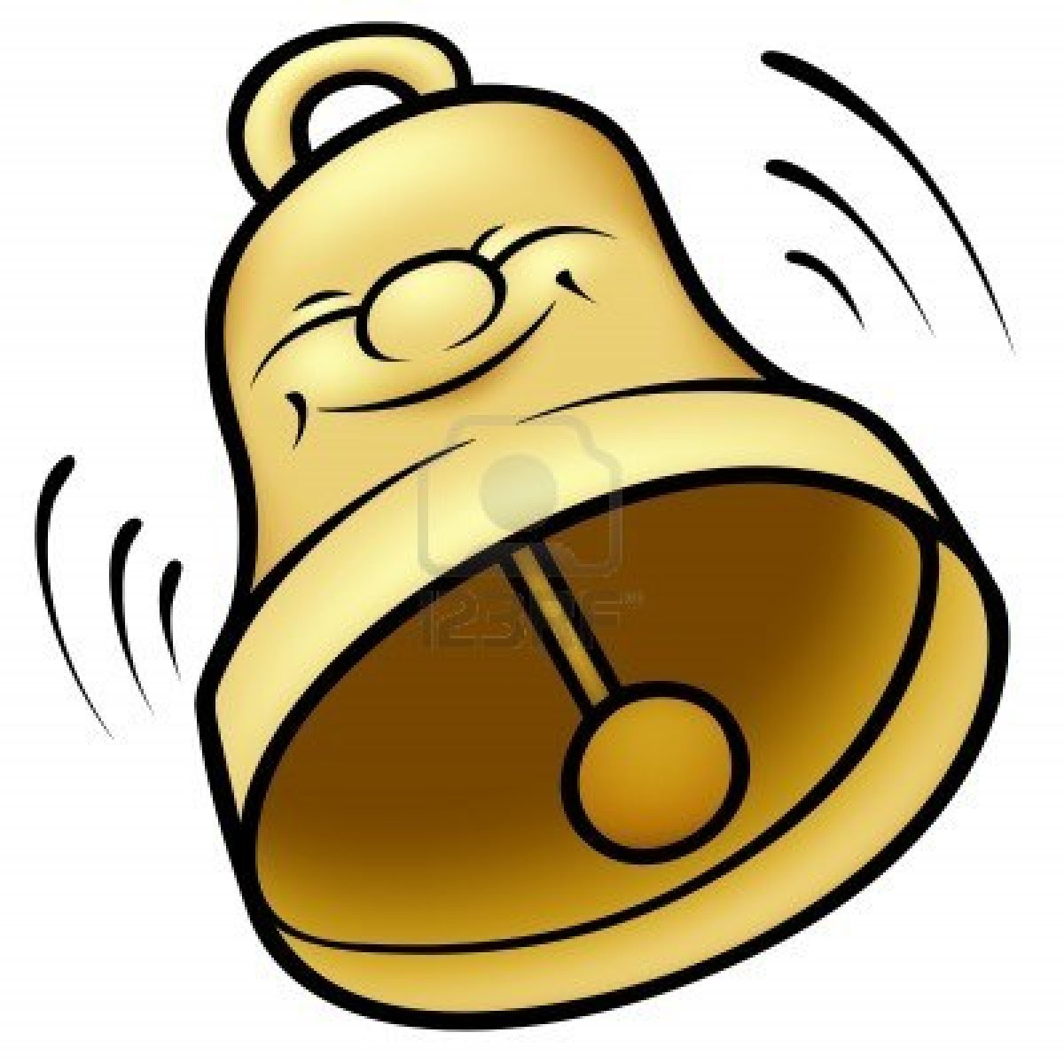 1200x1200 Hand Ringing A Bell Clipart