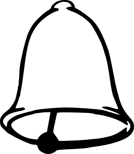 516x593 Bell Clip Art Free Vector In Open Office Drawing Svg ( Svg