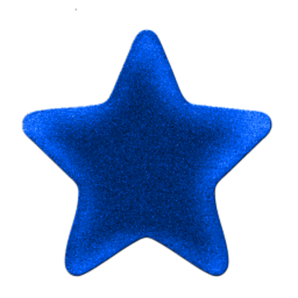 600x600 Star Blue Free Images