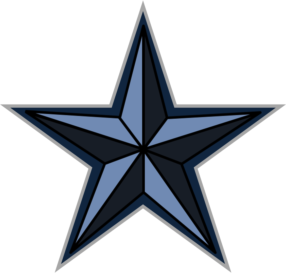 1128x1078 Star Clipart Royal Blue