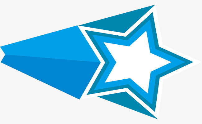 650x400 Beautiful Blue Star, Beautiful Stars, Columnar Stars, Flight Png