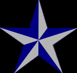 299x285 Blue Star Clip Art