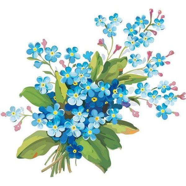 600x600 Bouquet Clipart Flower Clipart Background