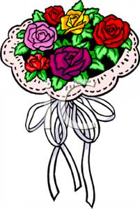 201x300 Bridal Bouquet Of Roses