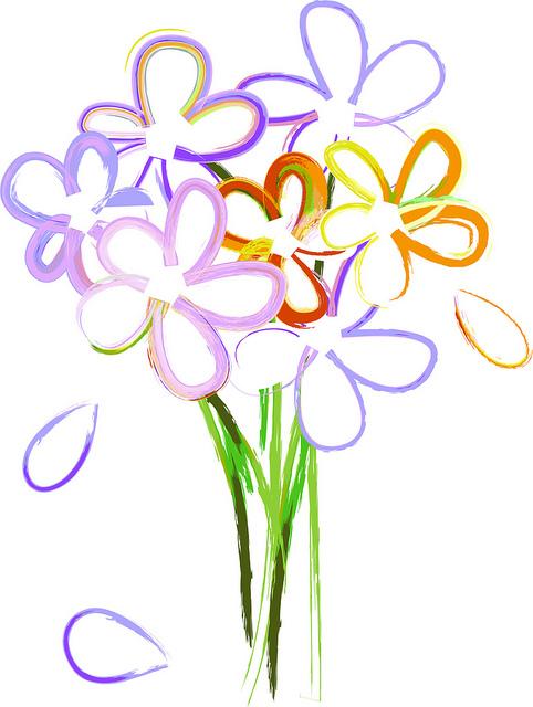 482x640 Flower Bouquet Clipart Clipartmonk