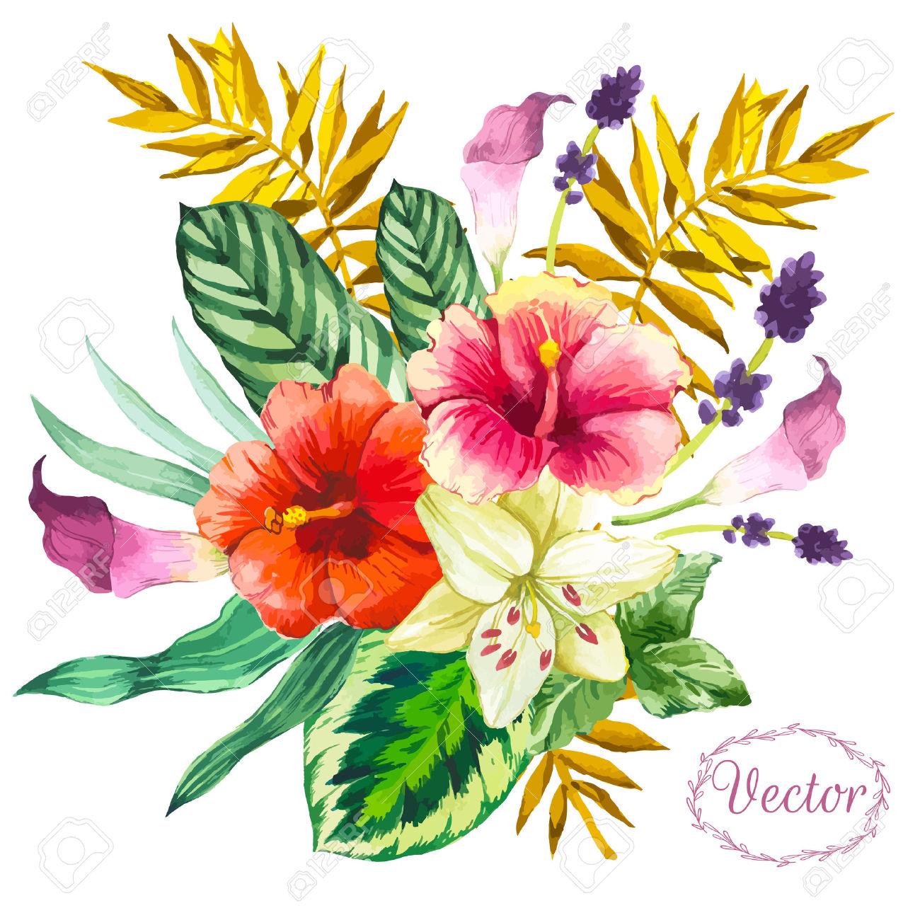 1300x1300 Bouquet Clipart Flower Bokeh