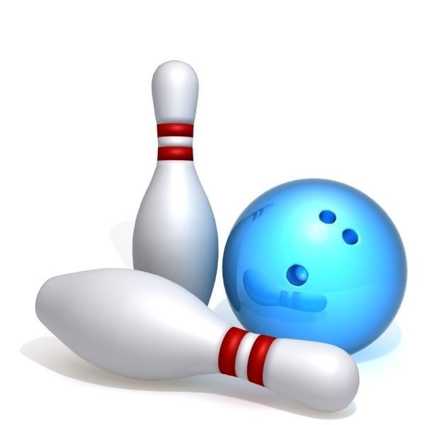 Pictures Of Bowling Balls And Pins