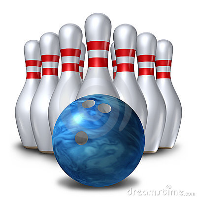 400x403 Bowling Pin Bowling Pins Ten Pin Ball Set Bowl Symbol Royalty