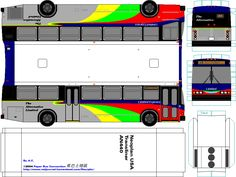 236x177 Check Out These Two Colorful Indonesian Buses Papercraft Designed