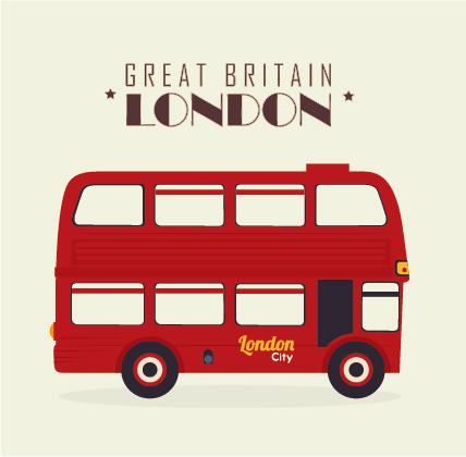 428x420 London City Bus Design Vector London Vector Vector