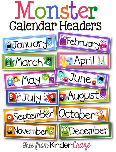 463x609 Best Classroom Calendar Ideas Prek Calendar