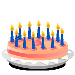 300x300 Candles Clip Art Download