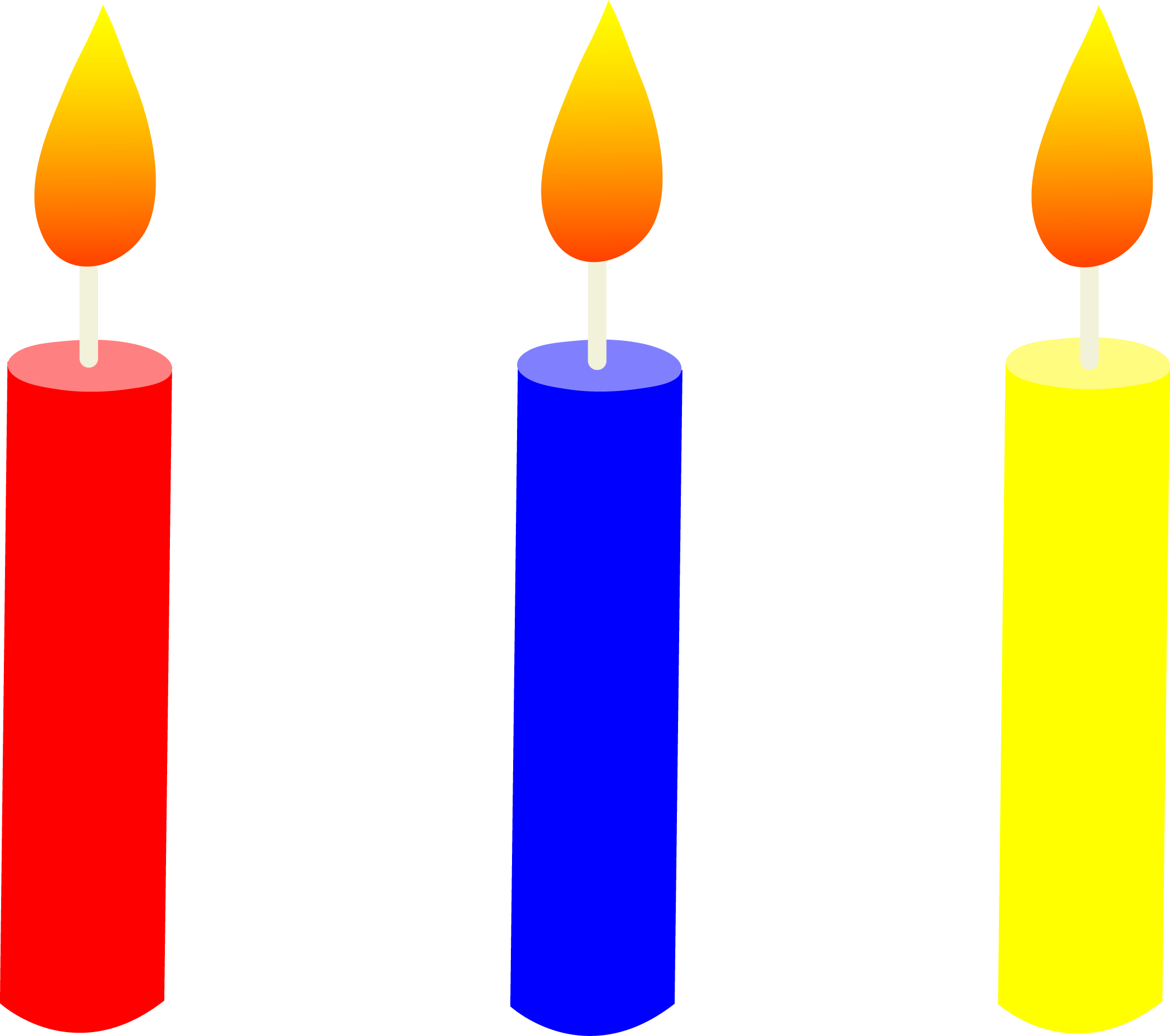 2100x1860 Candles Birthday Candle Clipart Kid 3
