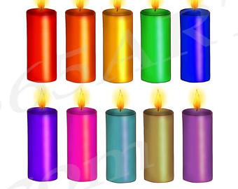 340x270 Candles Clipart Etsy