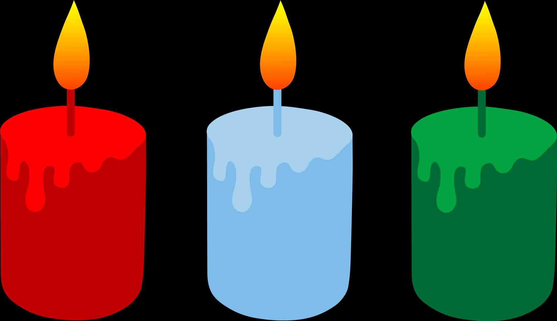 1899x1096 Christmas Candles Clipart Cheminee.website
