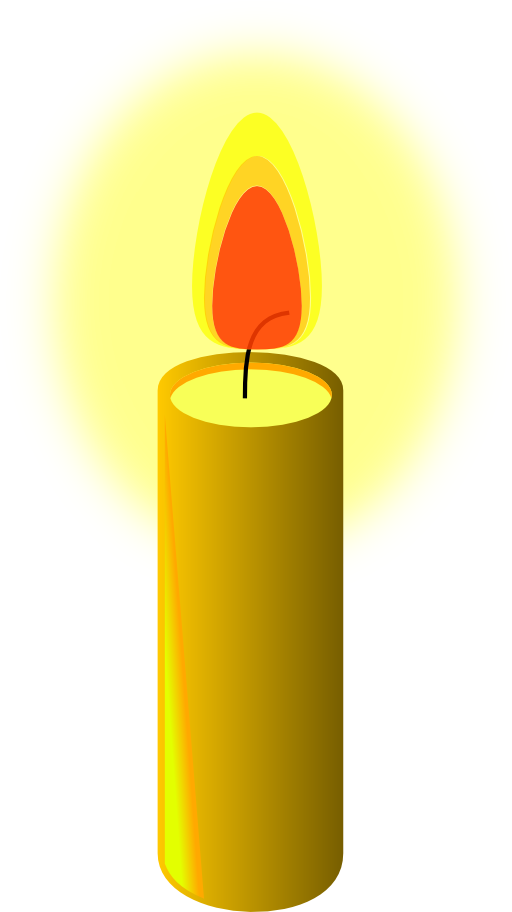 512x912 Free Clipart Candle Pictures