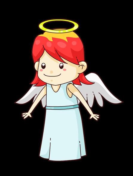 445x591 Angel Clipart Cartoon Angel