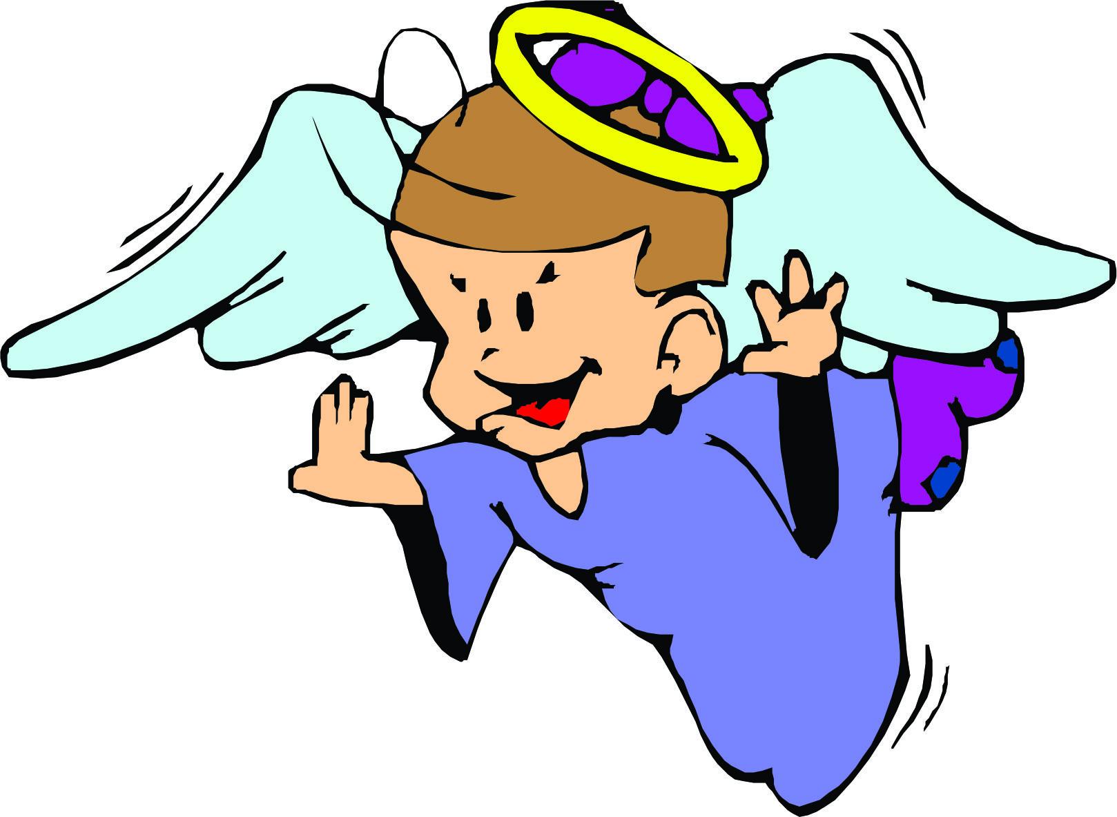 1618x1183 Cartoon Angels Clipart
