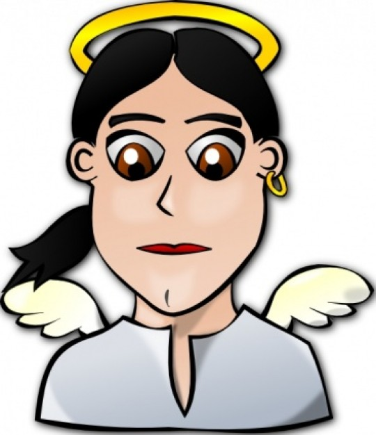 540x626 Pictures Of Cartoon Angels