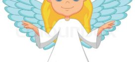 272x125 Cartoon Angel Clipart Character Royalty Free Angel Picture