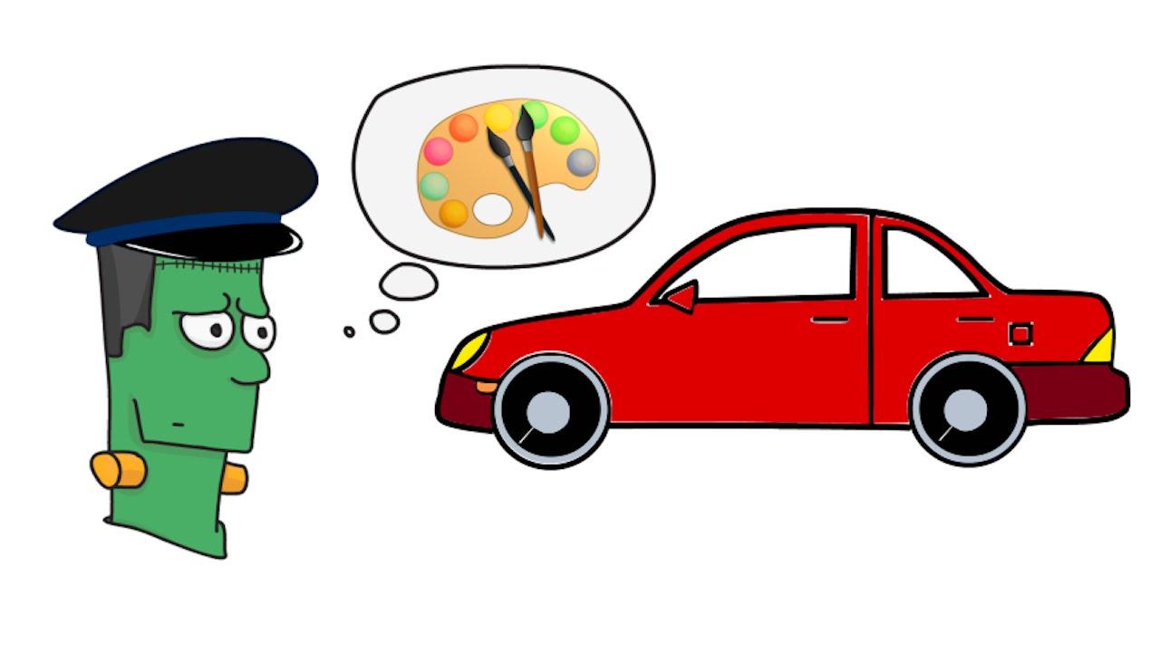 1280x720 Cartoon Cars Drawing Free Download Clip Art Free Clip Art