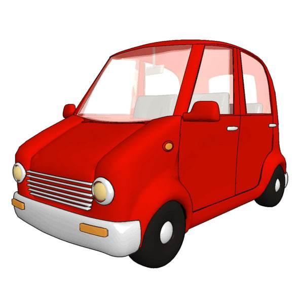 600x600 Image Cartoon Car Allofpicts