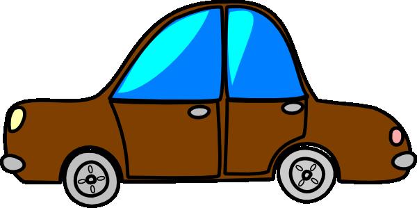 600x299 Car Brown Cartoon Transport Clip Art