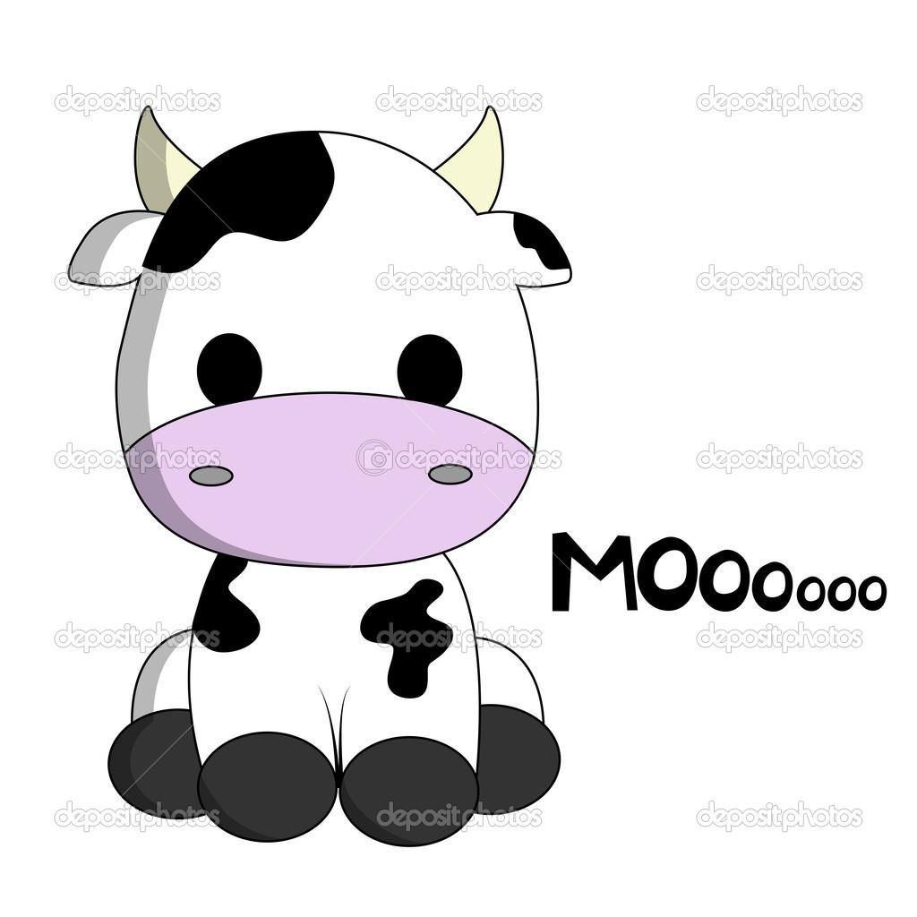 1024x1024 Cow Cartoon Cute Cow Cartoon Stock Vector Pixxart