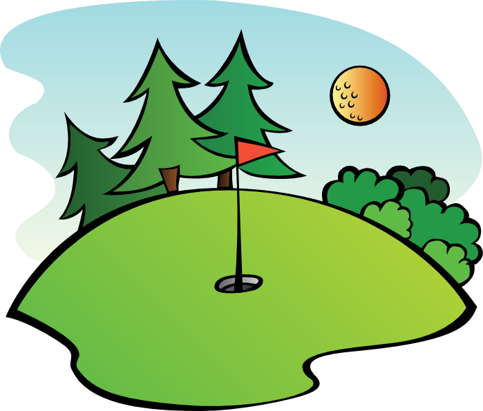 699x595 Free Golf Clipart And Animations