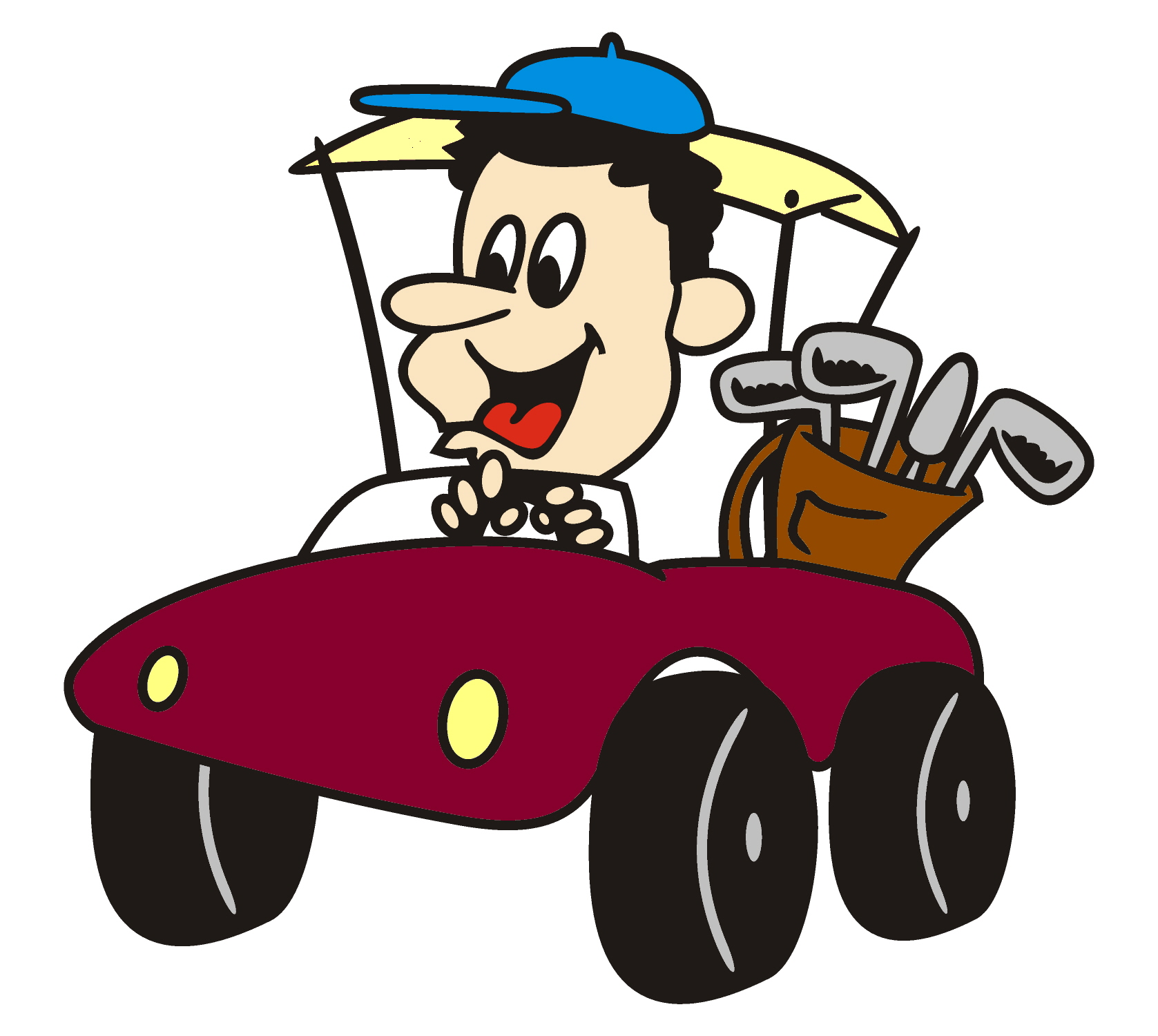 1677x1500 Golf Cartoon Cliparts