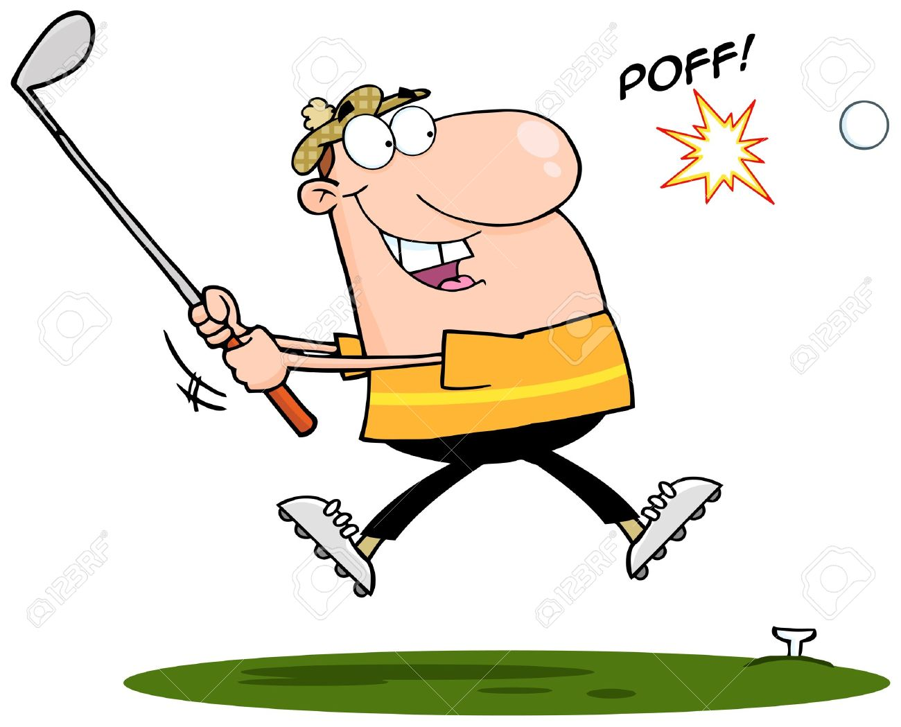 1300x1049 4,882 Golf Swing Stock Vector Illustration And Royalty Free Golf