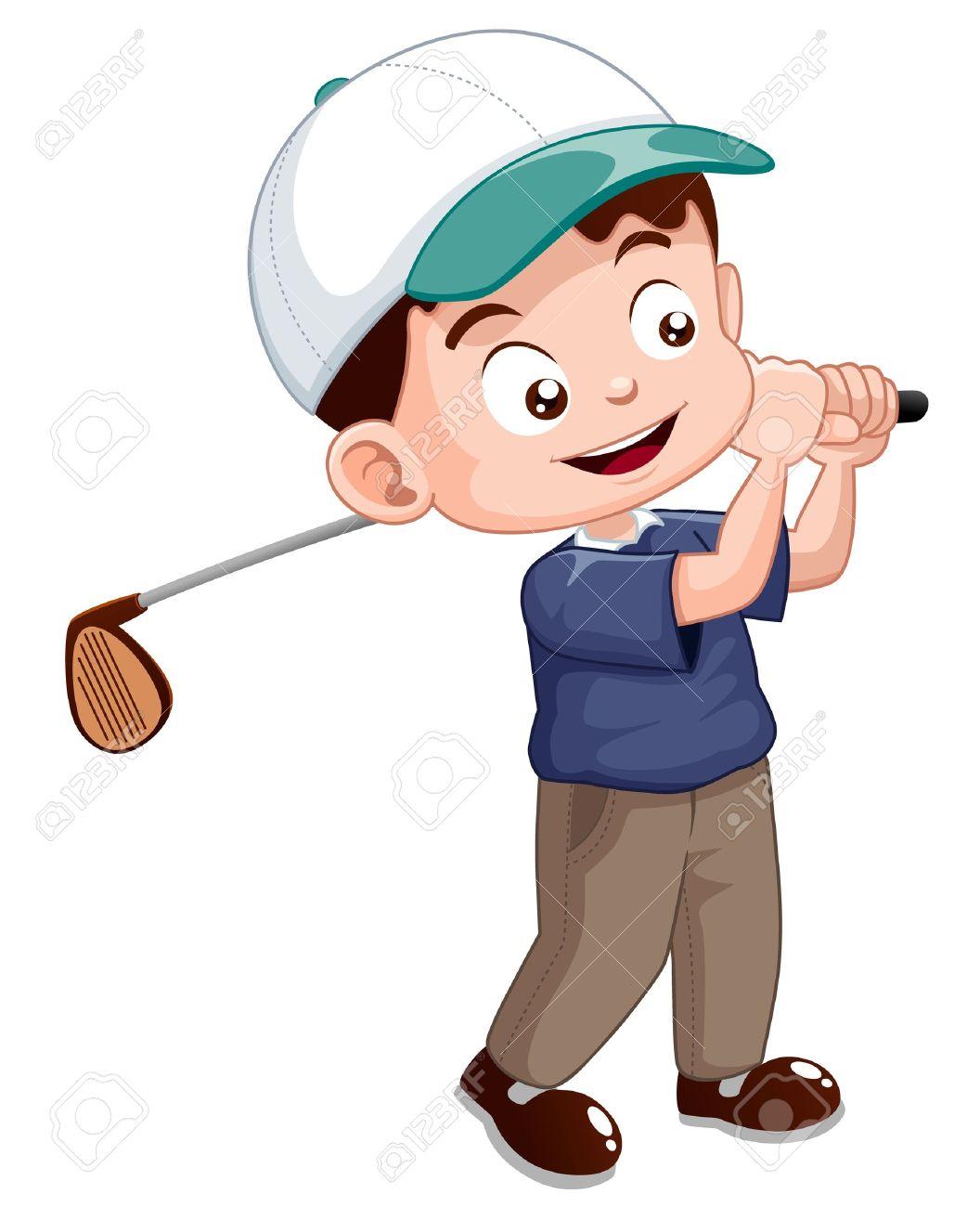 1056x1300 Golfer Images Clip Art