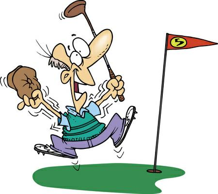 450x400 Graphics For Cartoons Funny Golf Graphics