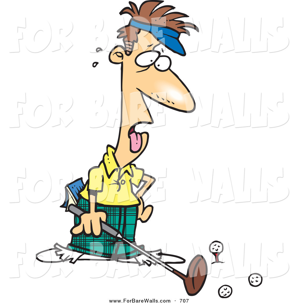 1024x1044 Printable Illustration Of A Cartoon Exhausted Caucasian Male