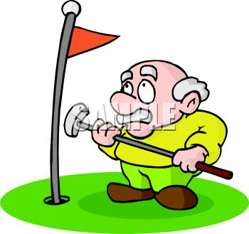350x329 Cartoon Clipart Golf