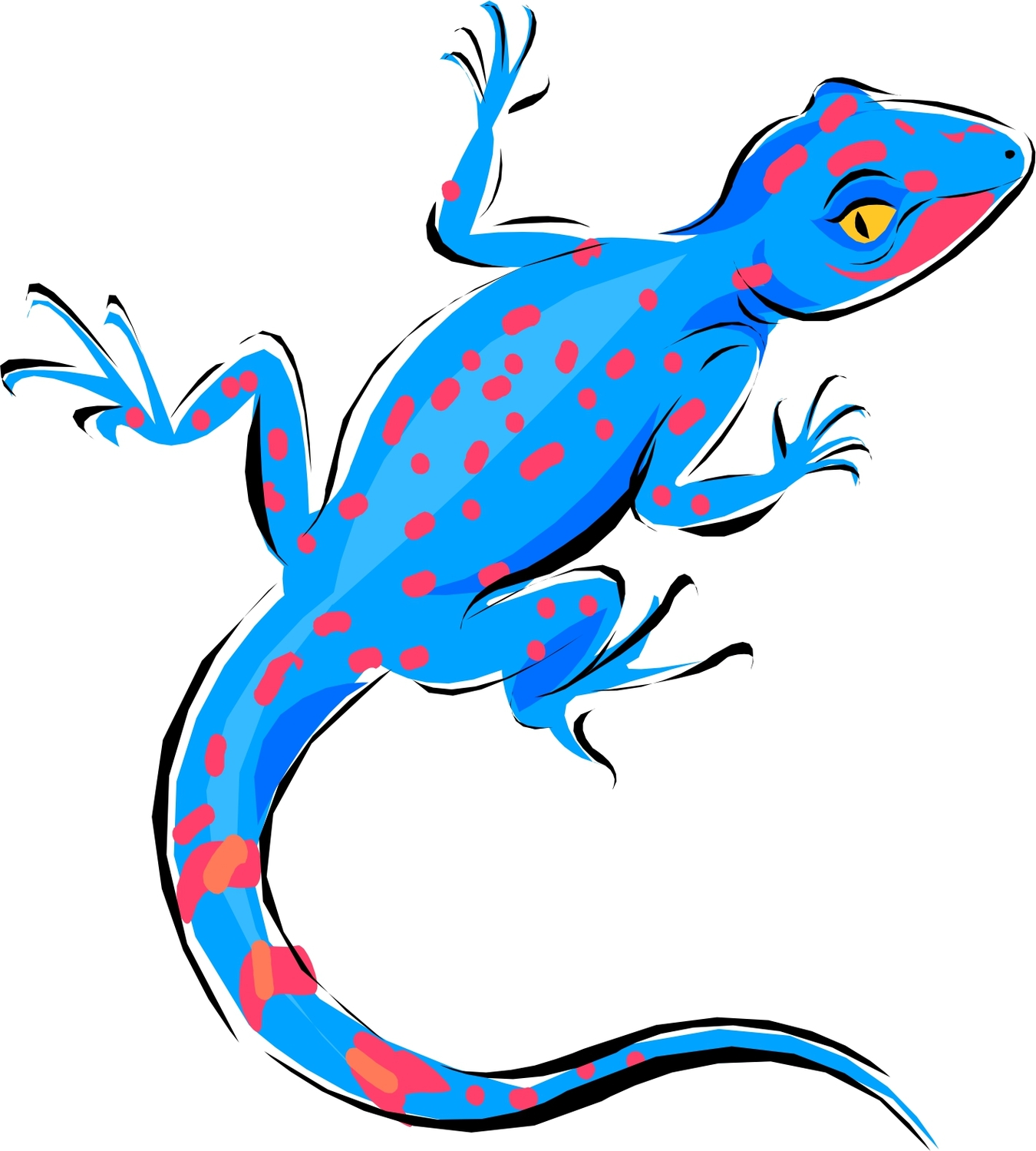 Pictures Of Cartoon Lizards | Free download best Pictures Of ... for Cute Lizard Clipart  66plt