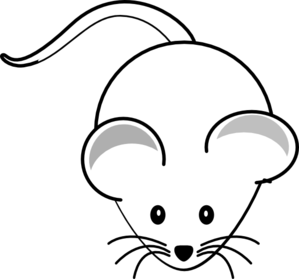 299x279 Clipart of mouse