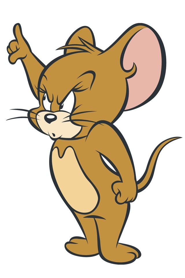 640x960 Jerry Mouse Clipart